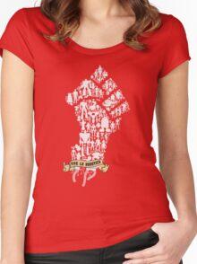 Robot Revolution Women's Fitted Scoop T-Shirt