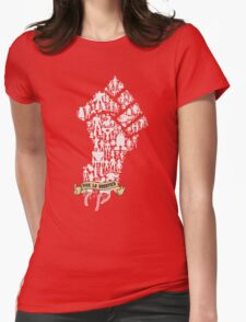 Robot Revolution Womens Fitted T-Shirt