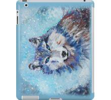 Snow Wolf - Animal Art by Valentina Miletic iPad Case/Skin