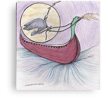Raven Flight Canvas Print