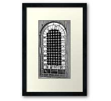 screen lights Framed Print