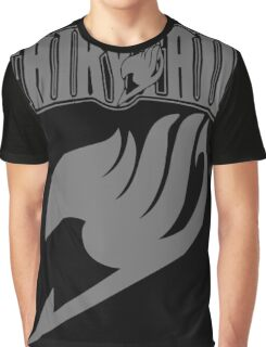 Fairy Tail Grey Graphic T-Shirt