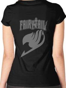 Fairy Tail Grey Women's Fitted Scoop T-Shirt