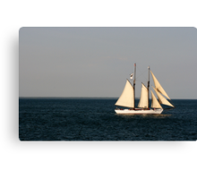 Sailing Nantucket Sound Canvas Print