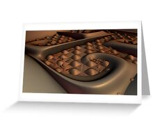 Grannies Chocolate Squares Greeting Card