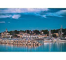 Summertime Marina in Port Photographic Print