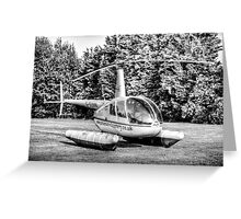 Robinson R44 Greeting Card