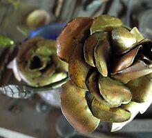 Metal Roses Never Die by Sarah St. Pierre