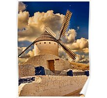 Spanish windmill Poster