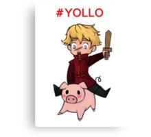 #YOLLO Canvas Print