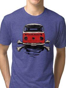 Bus & Crossbones Tri-blend T-Shirt