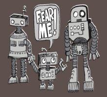 FEAR ME! Robot Kid Kids Clothes