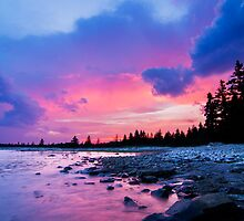 Acadia National Park Sunset by MIRCEA COSTINA