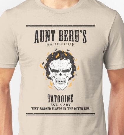 Aunt Beru's Barbecue Unisex T-Shirt