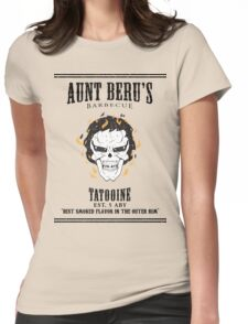Aunt Beru's Barbecue Womens Fitted T-Shirt