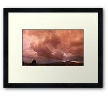 ©HCS June Glow Sunset Framed Print