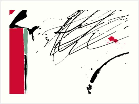 Red Splash by Andi Bird