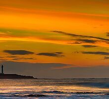LOSSIEMOUTH - COVESEA SUNSET by JASPERIMAGE