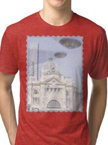 Melbourne invasion Tri-blend T-Shirt