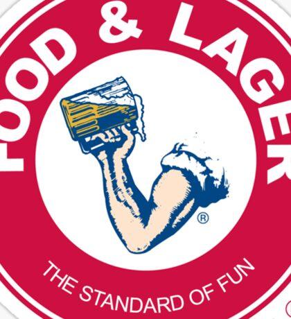 Food & Lager Sticker