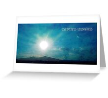 ©HCS Ahura Mazda Textured Greeting Card