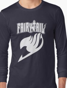 Fairy Tail White Long Sleeve T-Shirt