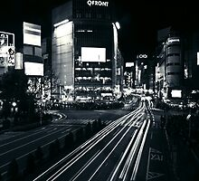 Shibuya Black and White by Alistair McNab