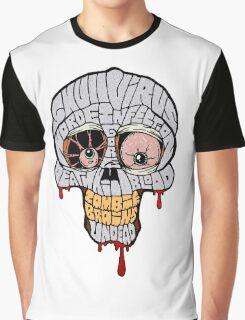 Skull Words Graphic T-Shirt