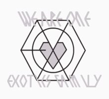 "Exo's Exotics family logo ""We are one , We are Exotics family"" by Kphs28"