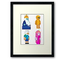 AdventureTime - Starbound Sprites! Framed Print