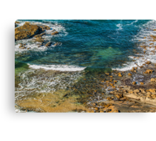 Wave Wash. Canvas Print