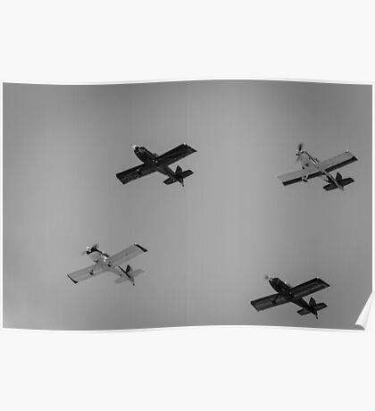Four Planes. Poster