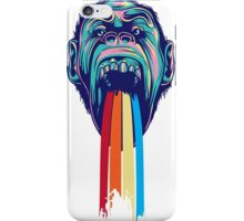 Colourful Monkey Art iPhone Case/Skin