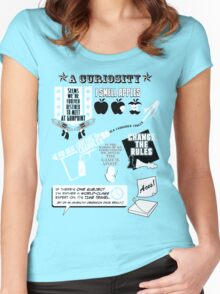 H.G. Wells Witticisms Women's Fitted Scoop T-Shirt