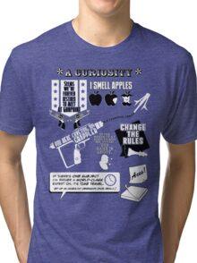 H.G. Wells Witticisms Tri-blend T-Shirt