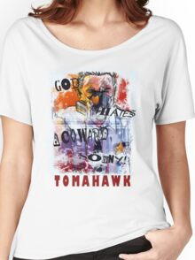 TOMAHAWK - god hates a coward Women's Relaxed Fit T-Shirt