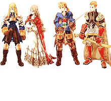 Ramza, mustadio Final fantasy tactics characters by linwatchorn