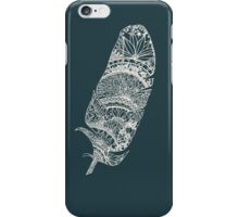 Feather Paper-Cut  iPhone Case/Skin