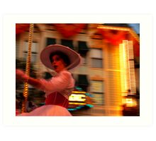 Mary Poppins? Art Print