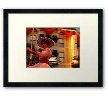 Mary Poppins? Framed Print