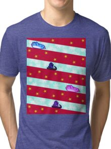 Candy Slide - X'mas Penguins Tri-blend T-Shirt