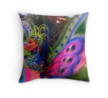 Street Dancer Throw Pillow