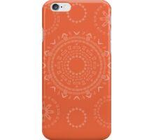 Monogram Pattern (F) in Koi iPhone Case/Skin