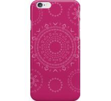 Monogram Pattern (F) in Vivacious iPhone Case/Skin