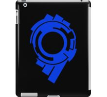 ghost in the shell blue stand alone complex 2nd gig anime manga shirt iPad Case/Skin