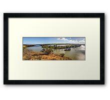 Ps Marion - Bow Hill Cliffs Framed Print