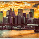 New York City Summer Panorama by Chris Lord