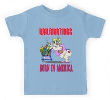 Walmartians Born In USA Kids Tee