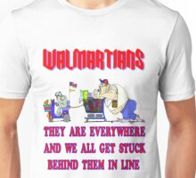 Walmartians Stuck in our checkout line Unisex T-Shirt
