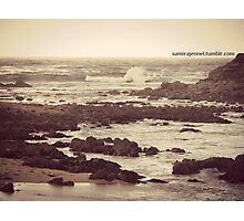i want to lose myself in these waters Photographic Print